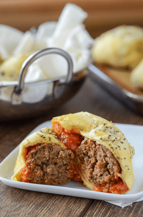 Meatball Bombs | Easy Ground Beef Recipes You'll Crave | ground beef and rice recipes