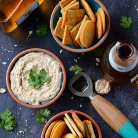 Smoked Fish Dip - quick creamy smoked white fish dip made in just 5 minutes! A Florida classic!