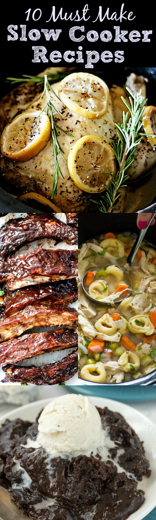 10 Must Make Slow Cooker Recipes!