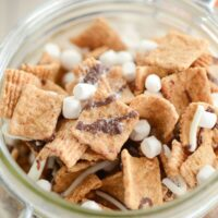 A Jar of S'mores Snack Mix