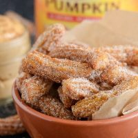Pumpkin Churros Recipe