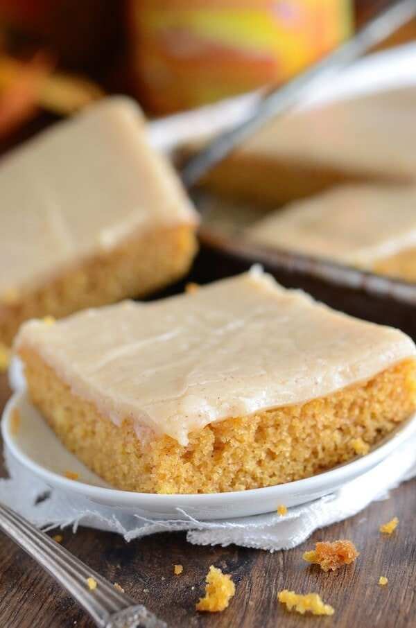 Pumpkin Sheet Cake With Cream Cheese Frosting Recipe