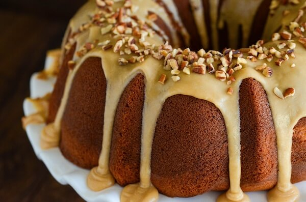 Sweet Potato Cream Cheese Bundt Cake Recipe