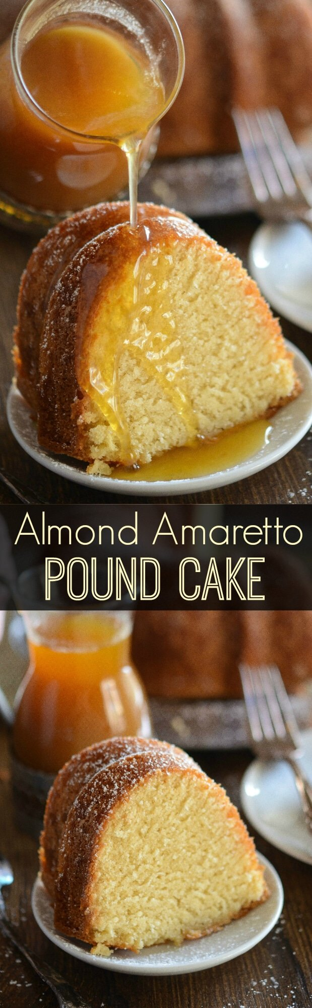 Amaretto Pound Cake With Amaretto Sauce