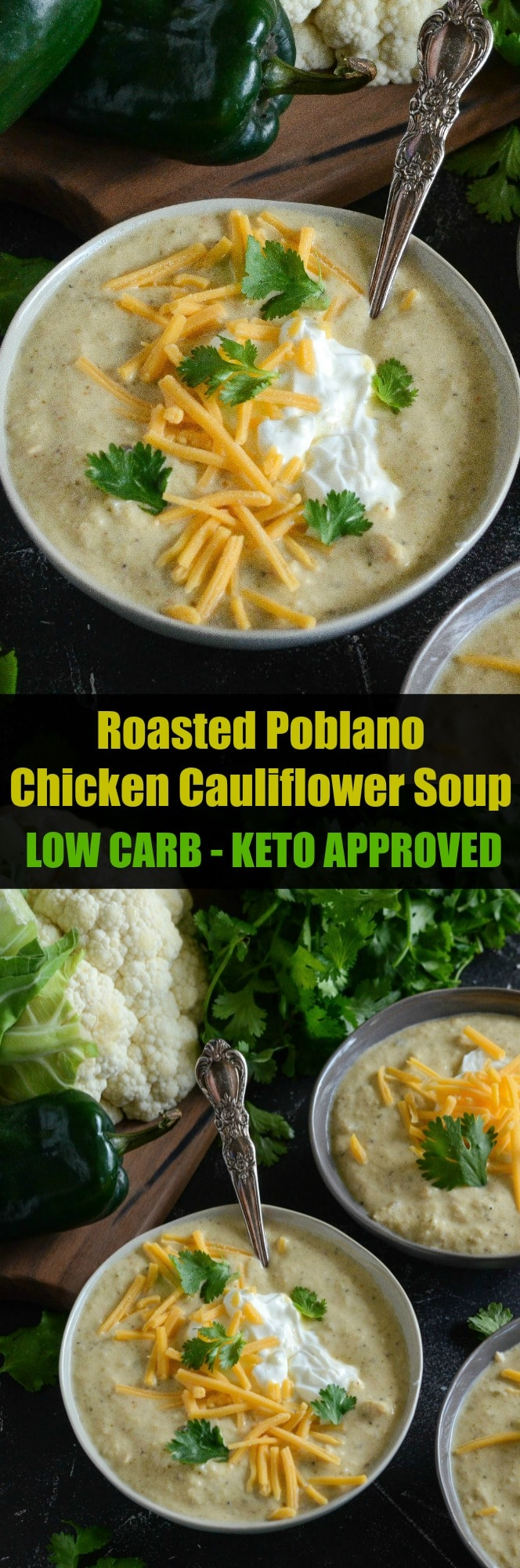 Keto Cauliflower Soup Recipe