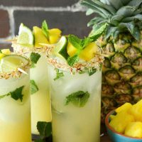 Pineapple Coconut Mojito Recipe