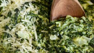The Best Creamed Spinach