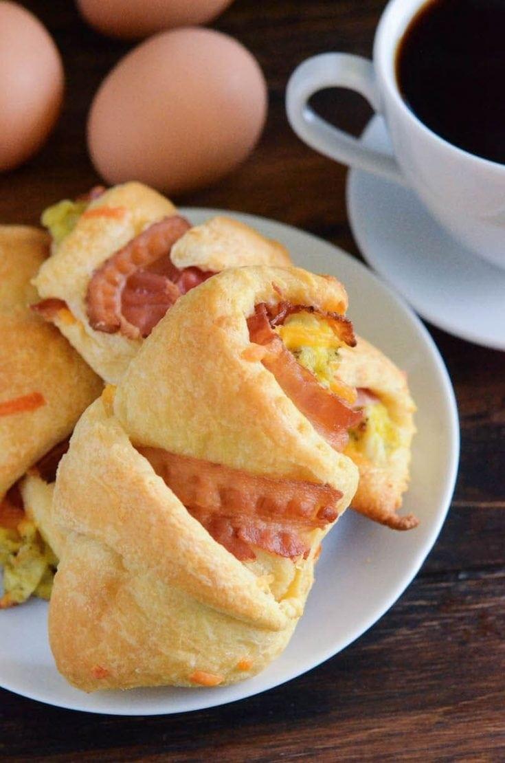 Bacon, Egg & Cheese Rollups