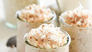 Coconut Rice Pudding Recipe
