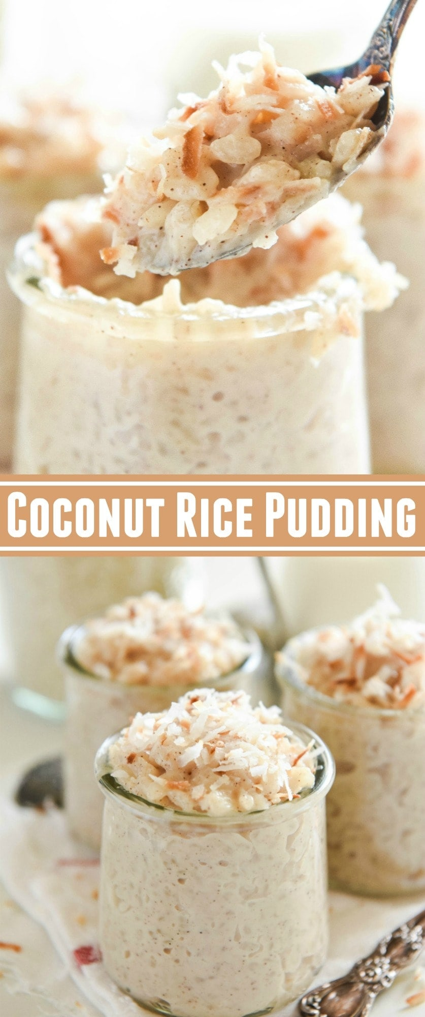Coconut Rice Pudding: A Disney Cruise Copycat Recipe! Made extra creamy with coconut milk!