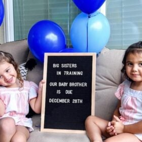 Big Sisters Pregnancy Announcement