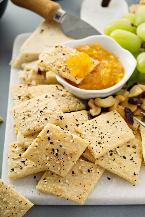 Gluten Free Low Carb Crackers