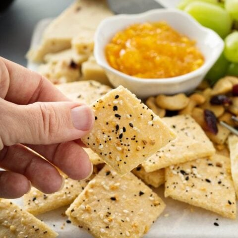 Keto Low Carb Crackers Recipe