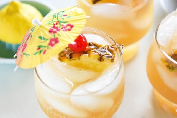 sparkling pineapple punch a refreshing 1959 throwback punch recipe that is easily made ahead and