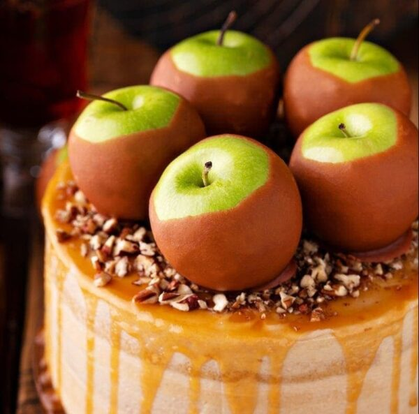 Caramel Apple Dream Cake Recipe