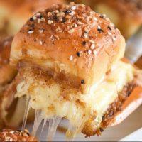Cheesy Turkey Sliders