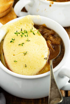 French Onion Soup Recipe: made in the crockpot