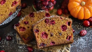 Pumpkin Cranberry Buttermilk Bread