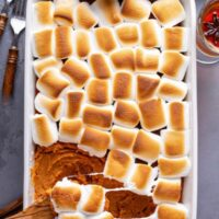 Sweet Potato Casserole With Marshmallows Recipe