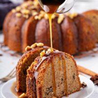 Walnut Rum Cake Recipe | Homemade Rum Cake Recipe From Scratch