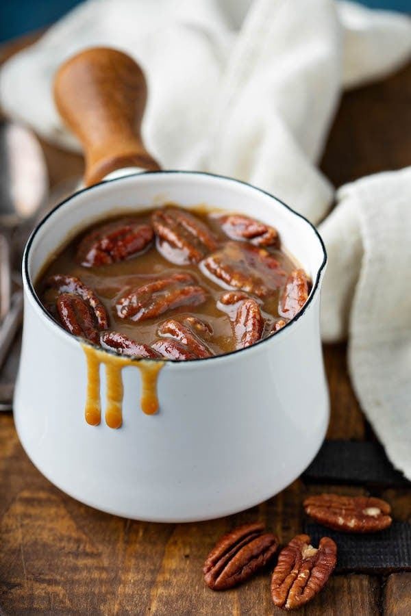 Pecan Praline Sauce The Novice Chef