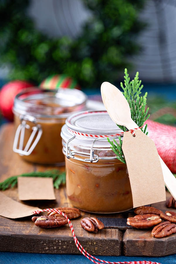 Pecan Praline Sauce in Jar