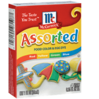 McCormick® Assorted Food Colors & Egg Dye