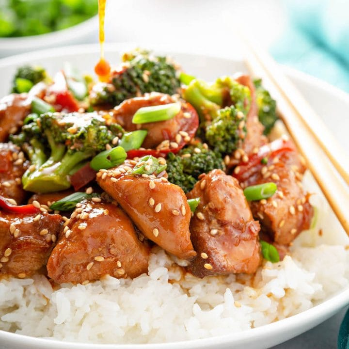 Crockpot Sesame Chicken The Novice Chef