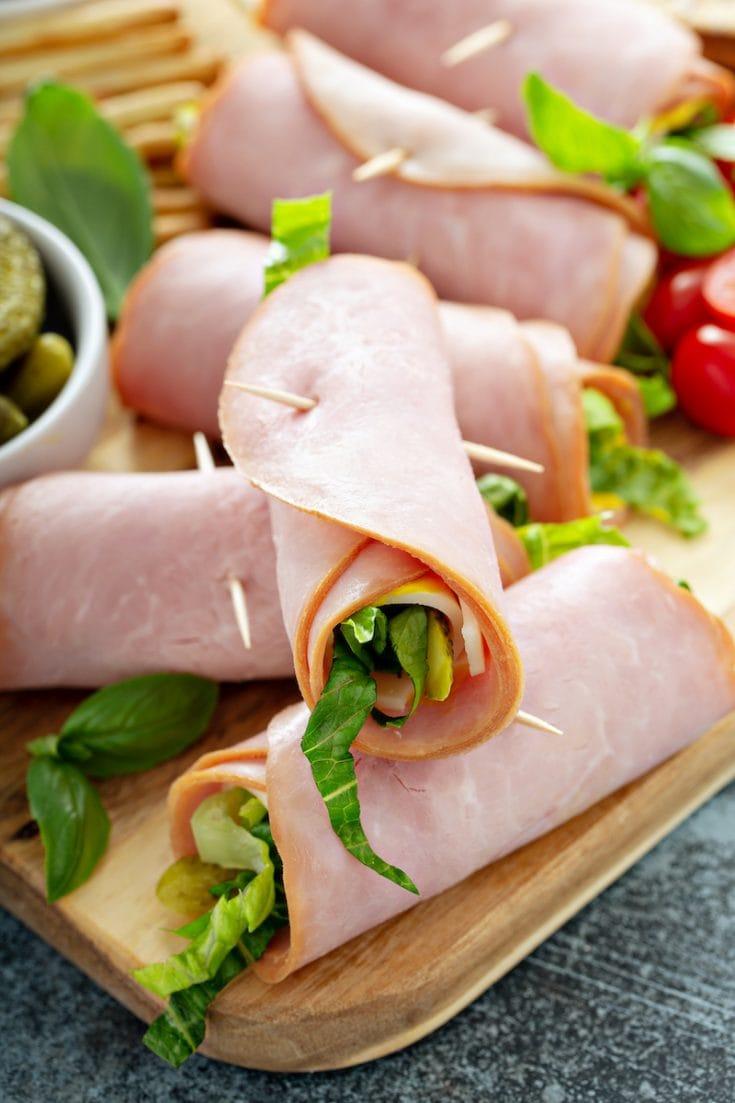 Cuban Ham Roll Ups