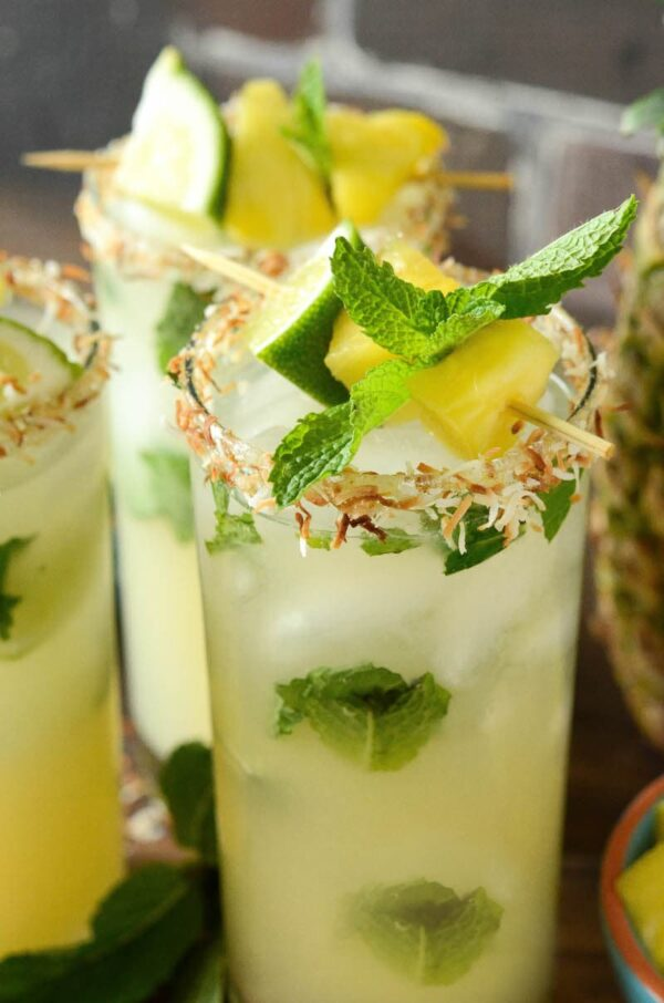 Pineapple Coconut Mojito Recipe