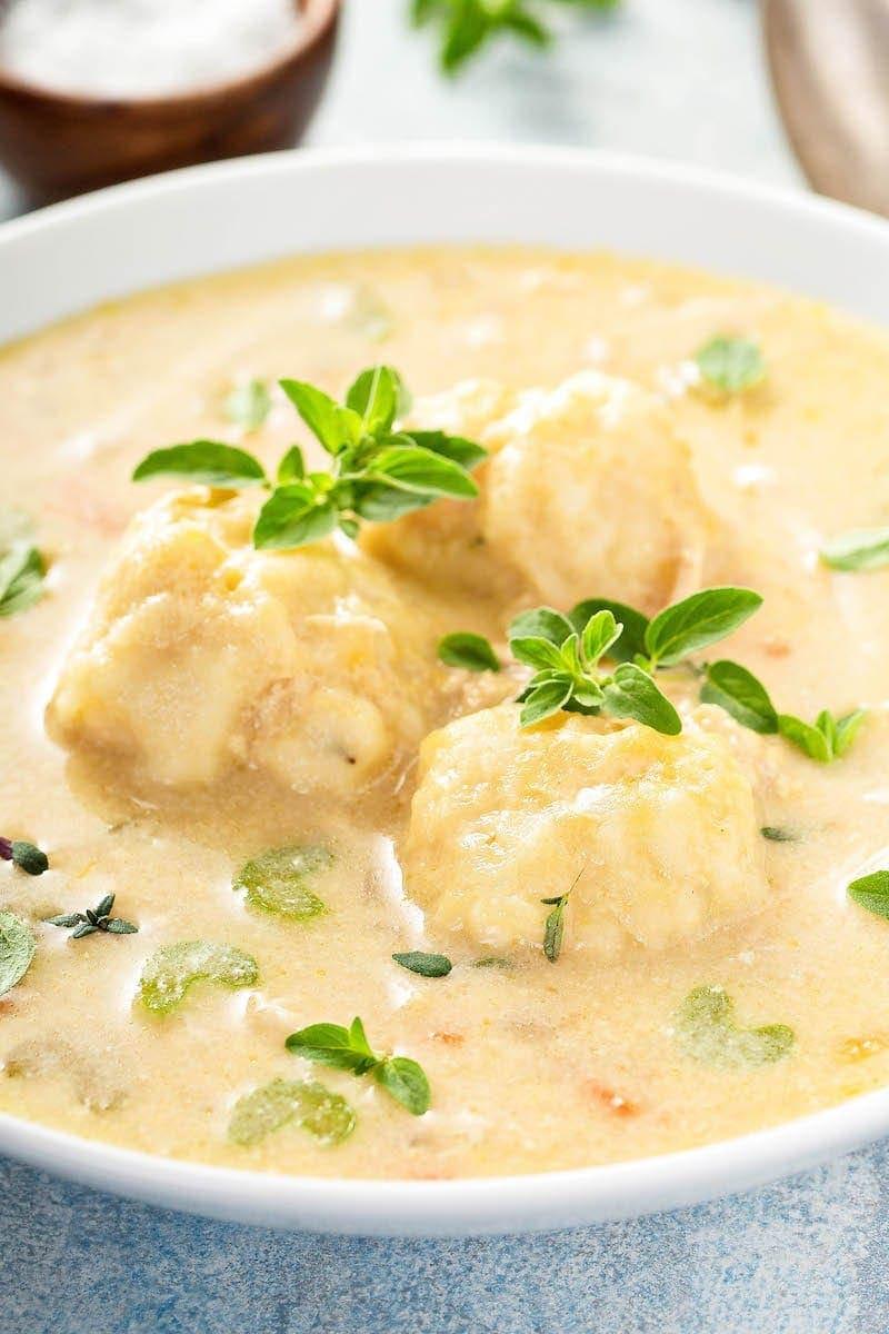 Crockpot Chicken And Dumplings Recipe Easy From Scratch