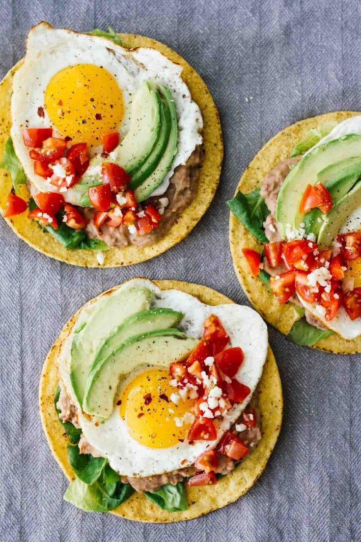 Huevos Rancheros Breakfast Tostadas