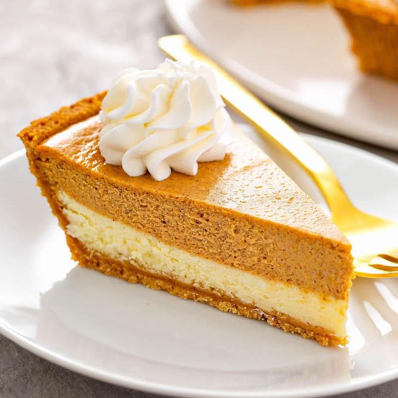 Easy Pumpkin Pie Cheesecake The Novice Chef