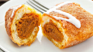 Pumpkin Pie Bombs