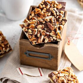 Pecan Christmas Crack in a box.