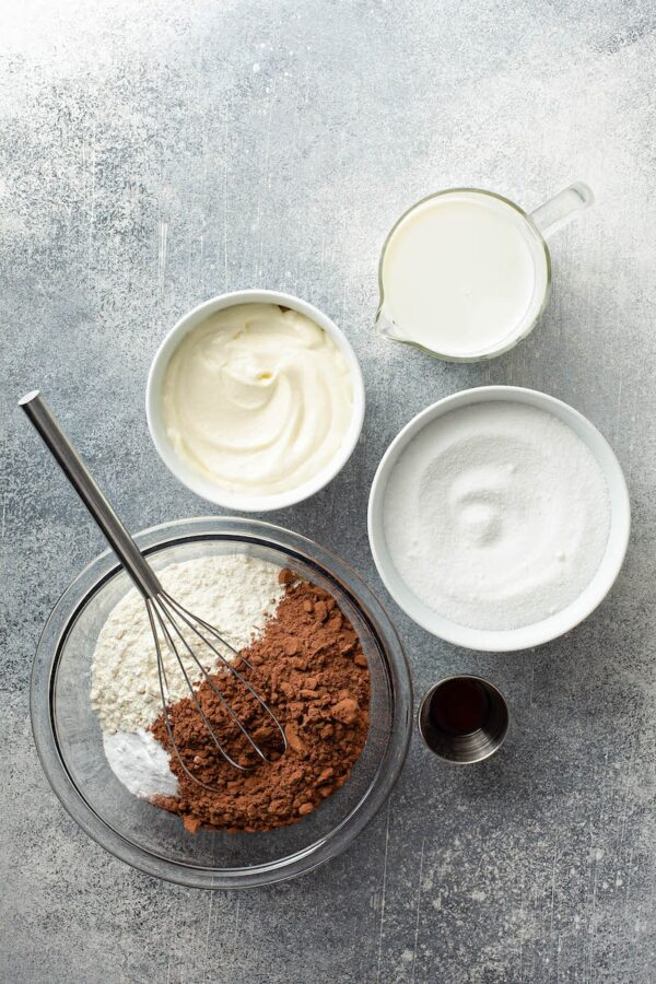 Ingredients for Mayonnaise Cake