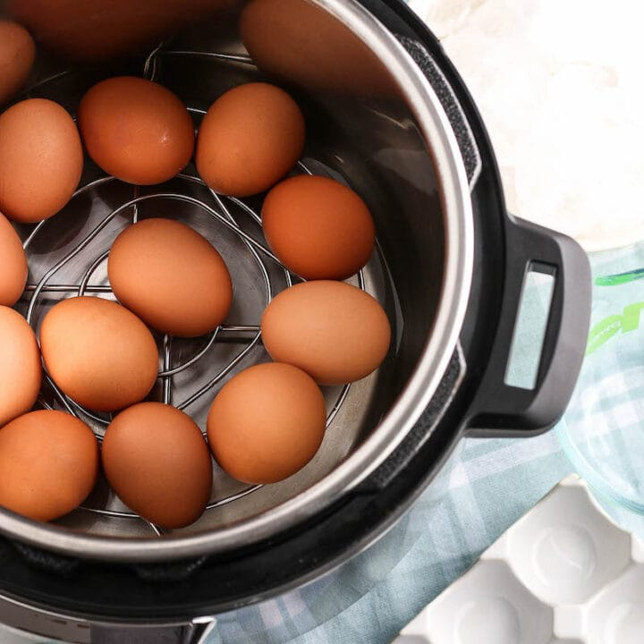 Easy Instant Pot Hard Boiled Eggs